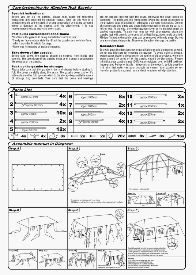 bradcot awning instructions